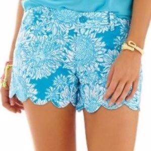 NEW BUTTERCUP SHORTS LION IN THE SUN AQUA TURQUOIS